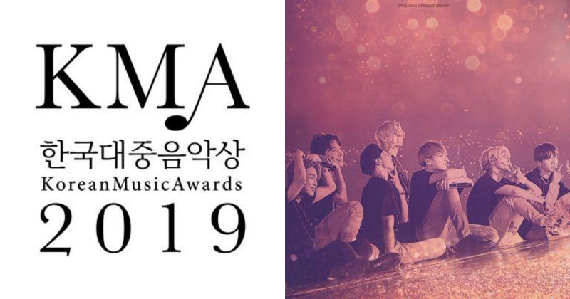 【KMA 2019】《韩国大众音乐奖》公布入围名单 BTS防弹少年团入围七项!