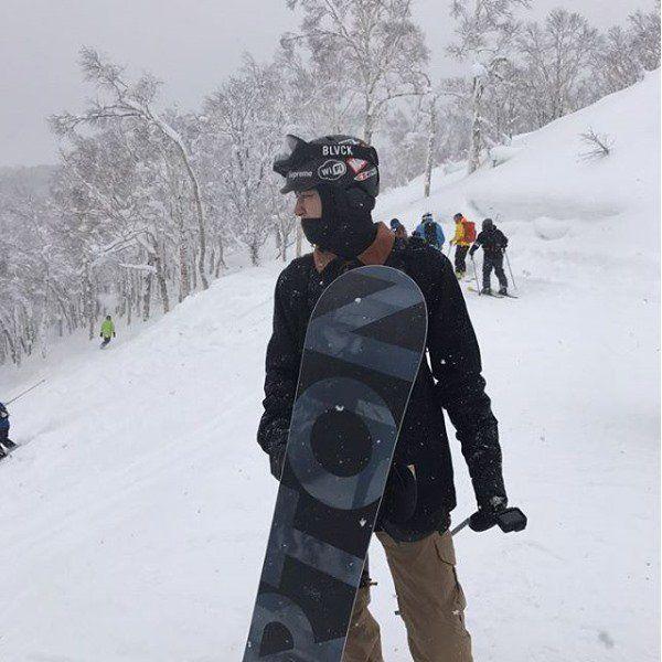 EXO燦烈開通個人Youtube頻道 分享北海道滑雪美景
