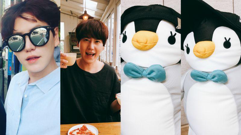 SUJU圭賢通過SNS公開近況…「墨鏡圭」和「曹酒鬼」為什麼都這麼可愛!