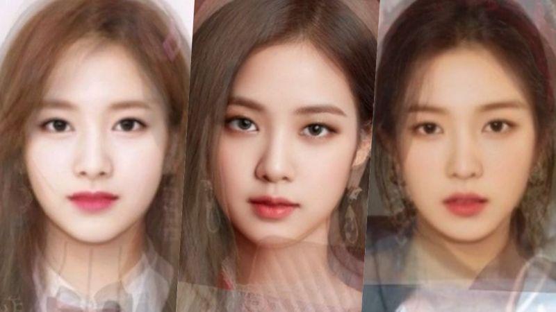 三大所属社的女团平均脸!全都像CG一样好看啊~