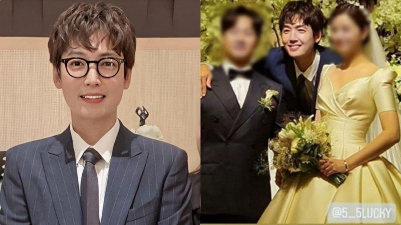 郑敬淏友人婚礼当司仪因太帅被指「抢风头」XD 网民:我又羡慕秀英了!