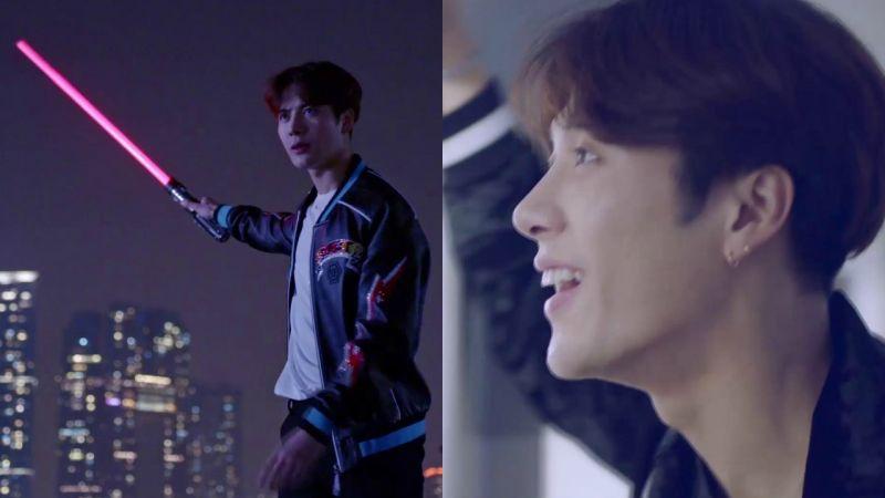 「推港官」GOT7 Jackson拍的香港旅遊宣傳片,其實是科幻動作片?