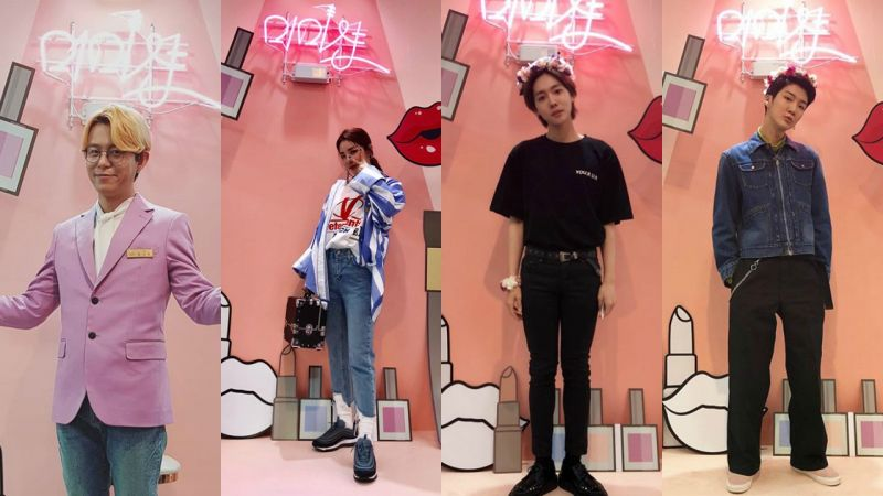在《mimishop》Tony An和Sandara Park亲自为素人化妆!