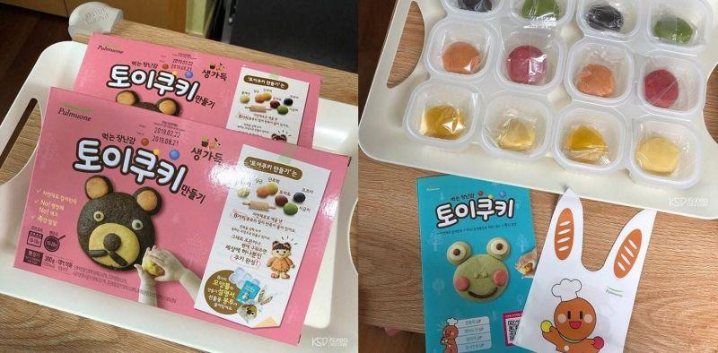 新手媽媽不煩惱!韓國玩具餅乾讓寶貝玩上一個下午