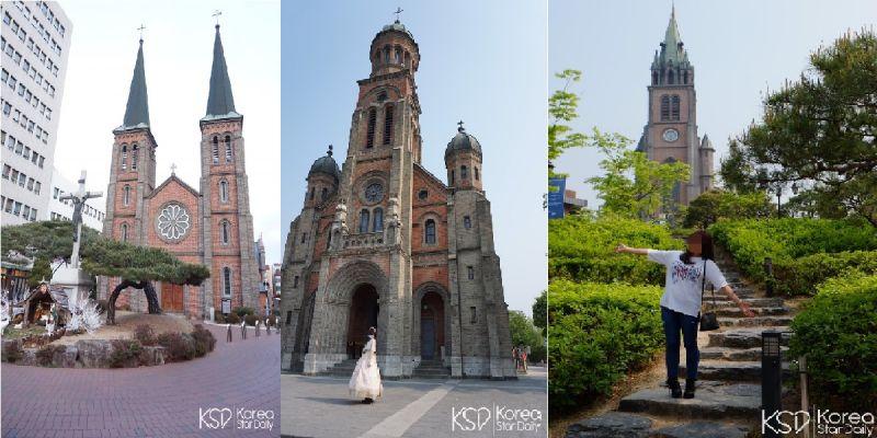 韓國必拍三大教堂 明洞聖堂、全州殿洞聖堂還有大邱的桂山聖堂