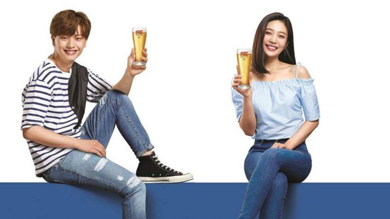 星宿夫妇再度合体!陆星材&JOY共同代言啤酒广告延续缘分
