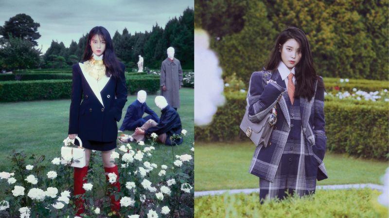 IU最新秋季画报公开!完美消化了各种不同的时尚风格,完全展现与「张满月」不同的氛围!