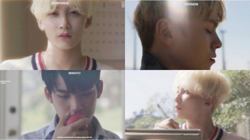 Seventeen将於22日带著新曲回归 率先公开神秘预告视频