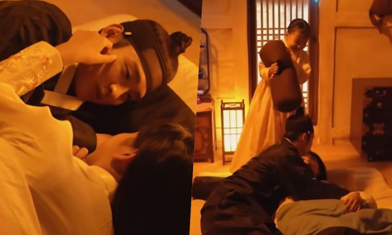 太甜♥《绿豆传》吻戏拍摄花絮公开!「前辈」金所炫安慰张东尹:慢慢来~
