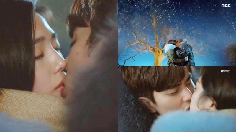 《不是機器人啊》俞承豪&蔡秀彬浪漫甜美的「流星雨KISS」剩下的集數就走花路吧~!