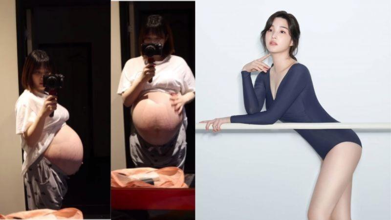 律喜怀双胞胎姊妹时体重是82公斤...时隔5个月成功减重约30公斤!网友:「这是三个孩子的妈妈吗?」