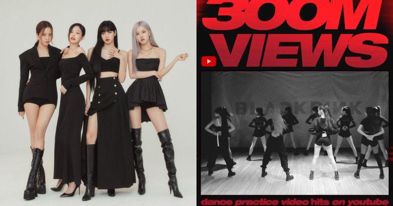 BLACKPINK 获第三支破三亿舞蹈练习片 两首歌同登告示牌百大单曲榜!