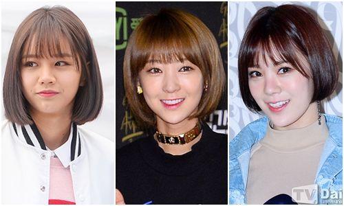 新學期要剪新髮型! 韓國女團示範髮型如何配臉型!