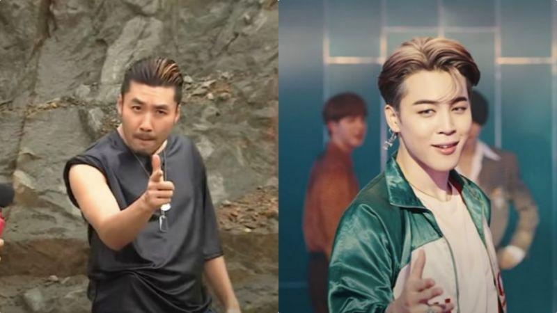 【有片】BTS防弹少年团《Dynamite》舞蹈动作好眼熟啊!原来是模仿了《无挑》卢弘喆的招牌POSE XD