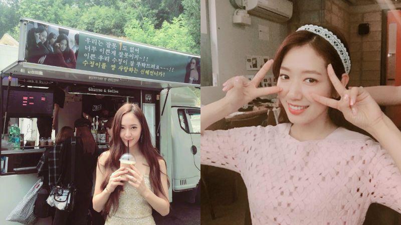 「太美了是罪啊~」朴信惠替Krystal應援《河伯的新娘2017》