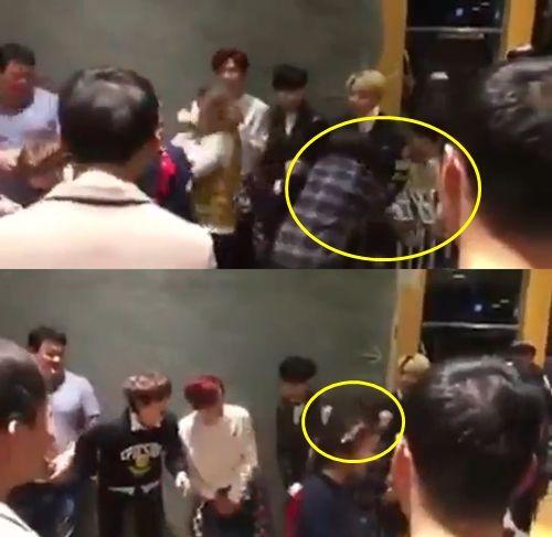 B1A4上節目慘遭女藝人鹹豬手 粉絲暴怒譴責