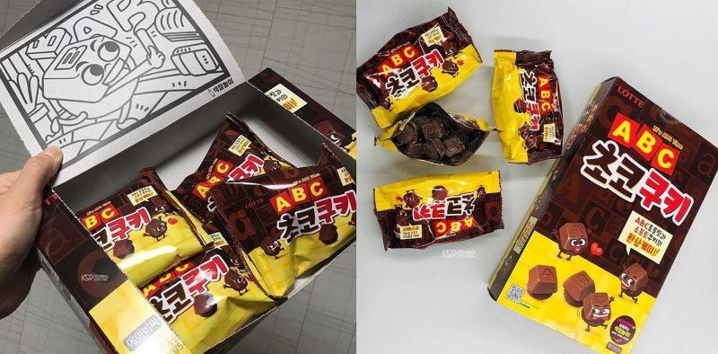 熟悉的零嘴推陳出新:ABC巧克力餅乾來囉~
