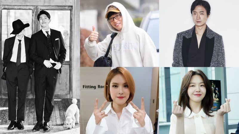 姜其永昨日舉行婚禮!劉在錫、趙宇鎮擔任主持人 Gummy、方珉雅獻唱祝歌