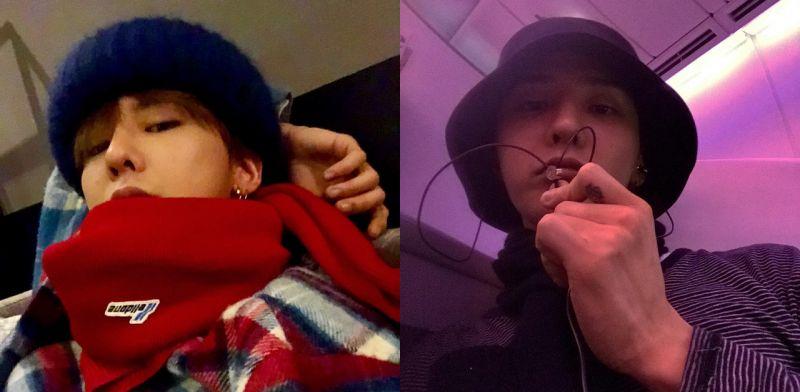 韩国网民用D社照片为证据,举报GD摘下口罩吸烟