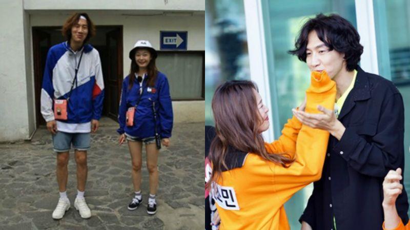 《Running Man》李光洙&全昭旻穿情侶裝  成員戲稱是來參加新婚旅行嗎?