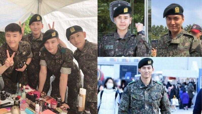 這些歐爸要回來啦!池昌旭、曺圭賢、李敏鎬、玉澤演、姜河那等人都將在上半年退伍!