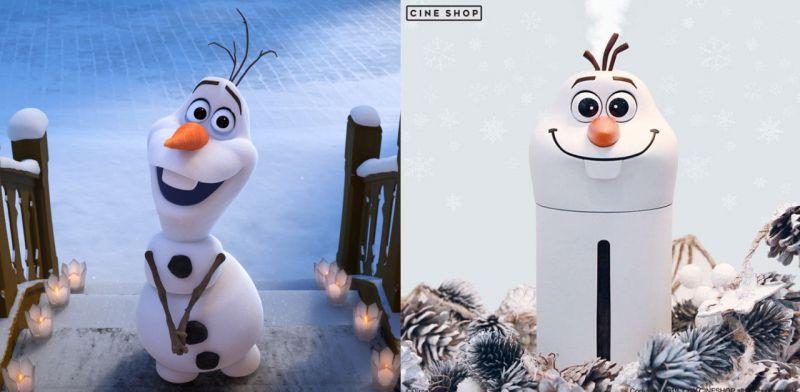 韓國CGV電影院推出《Frozen 2》雪寶Olaf加濕器:它陪你渡過寒冷冬天~