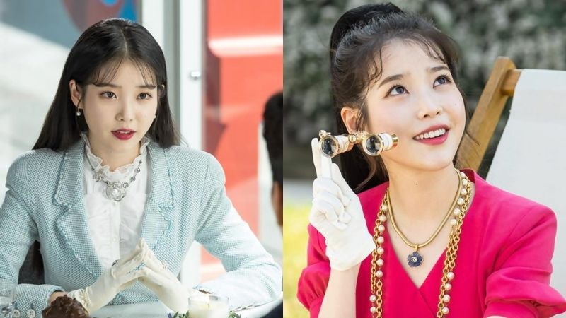 韩剧《德鲁纳酒店》简直是IU「张满月社长」的华丽服装秀!到底换了几套?