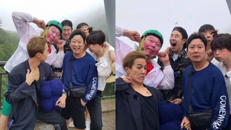 「令人一起發笑的合照XD」《新西遊記6》扮鬼臉大合照:P.O完勝&宋旻浩一臉懵