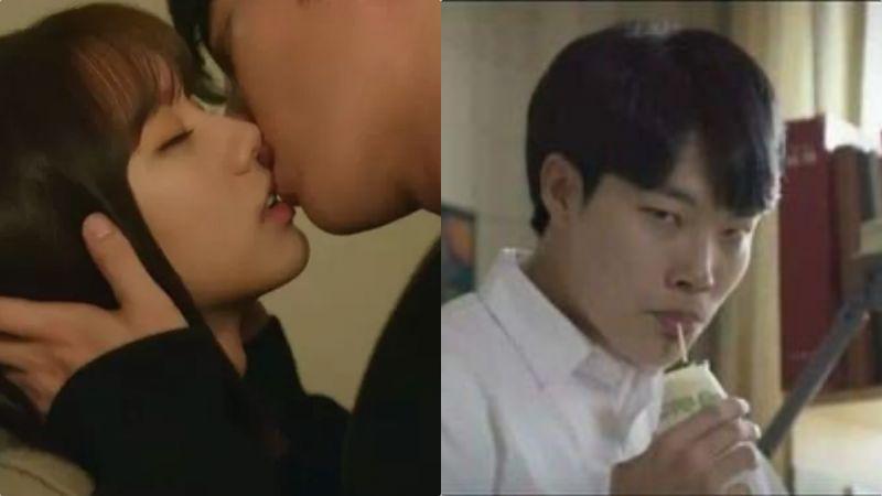 《我的室友是九尾狐》张基龙&惠利这轮Kiss要载入韩剧史册啦!留言区被柳俊烈表情包洗版XD