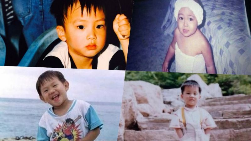 這個Baby是BTS?愛豆們的超萌童年照