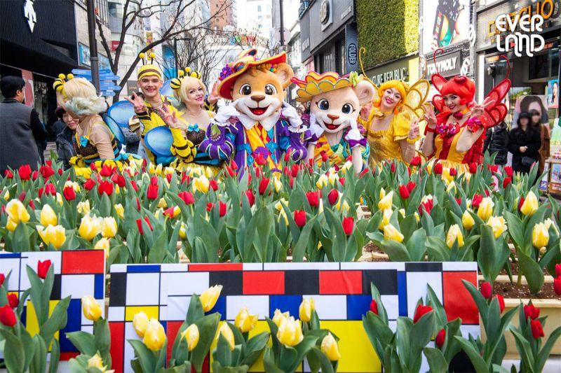 爱宝乐园由3月16日开始:为期44天的「郁金香季」