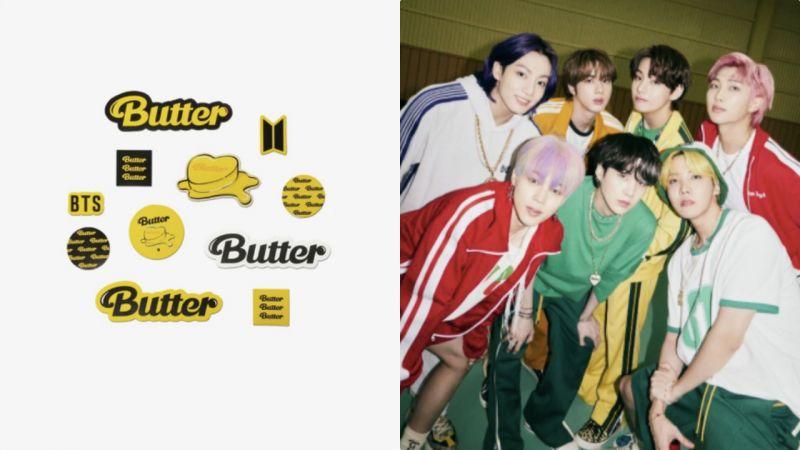 BTS防弹少年团「Butter」周边让人看得欲罢不能!已经听到了钱包在哭泣XD