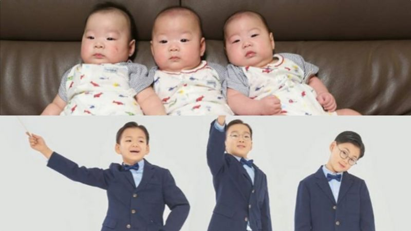 姨母們的大韓民國萬歲又長大了!馬上就要讀小學2年紀,時間都去哪兒了~