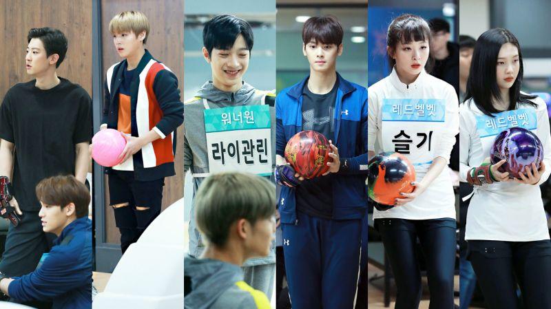 《偶運會》今年新增保齡球項目!EXO、Wanna One、Red Velvet等組合參加