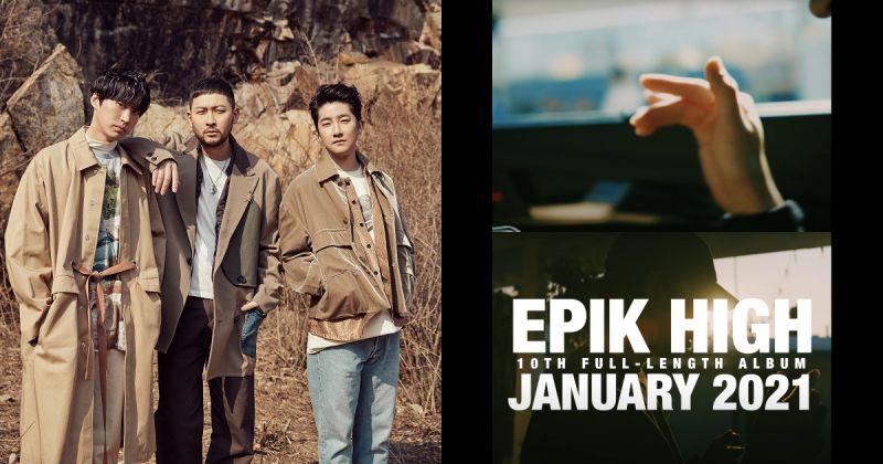 毫无疑问的因信赖而听!Epik High 明年初携正规十辑回归