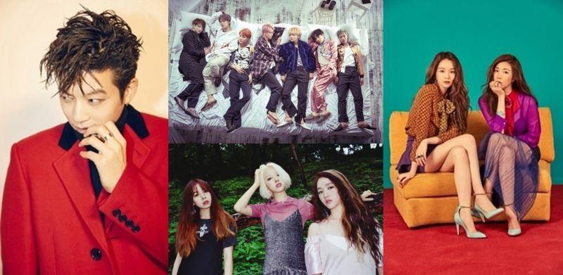 【今晚看什麼】防彈、Se7en、Davichi、Ladies' Code 大舉回歸!