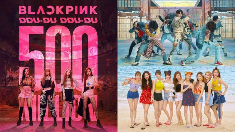YouTube揭晓 2018年最多观看的K-POP MV TOP10! BLACKPINK蝉联冠军,防弹、TWICE各有三首入榜