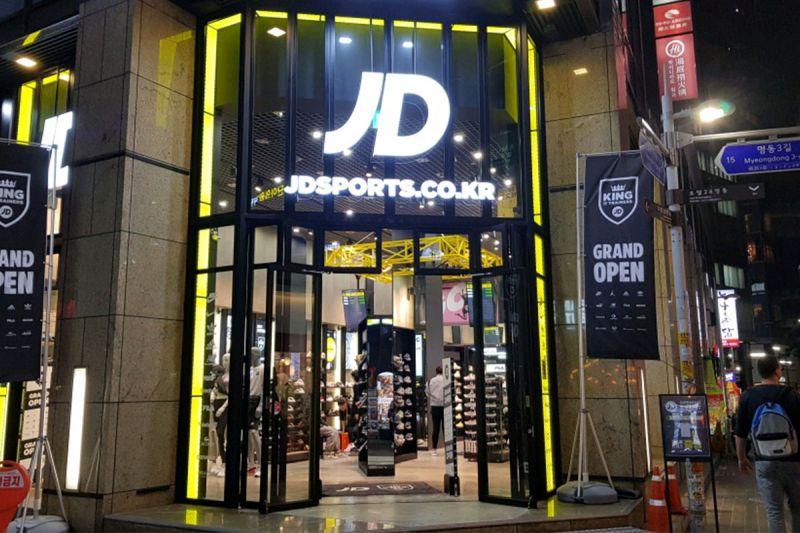 来自英国的JD Sports:韩国另一个买鞋的好地方!