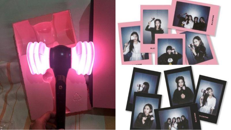 BLACKPINK手燈實體公開!真的像氣槌一樣會「發出聲音」,粉絲也表示:「很有創意啊!」