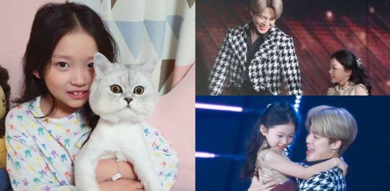 女童星收防彈少年團JIMIN禮物太興奮而虐貓?曾和BTS同台表演引萬千羨慕