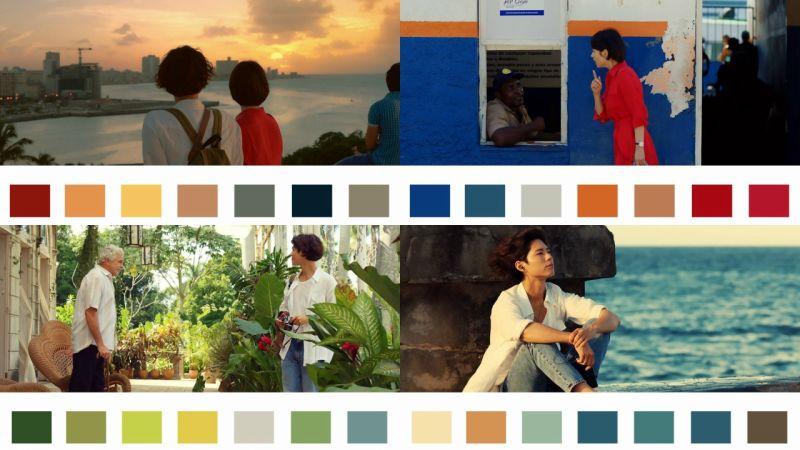 從色彩搭配看《男朋友》!每一幀都是絕美畫面~