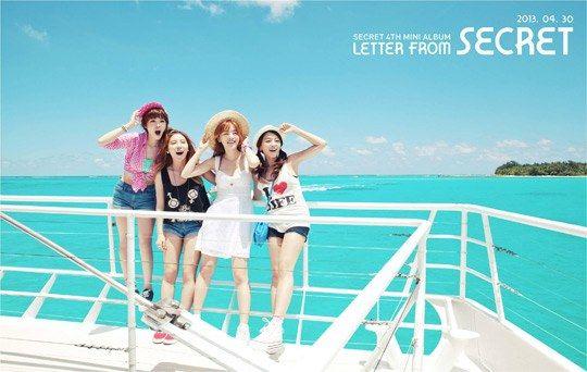 Secret公開新輯《Letter from Secret》主打曲《YooHoo》MV