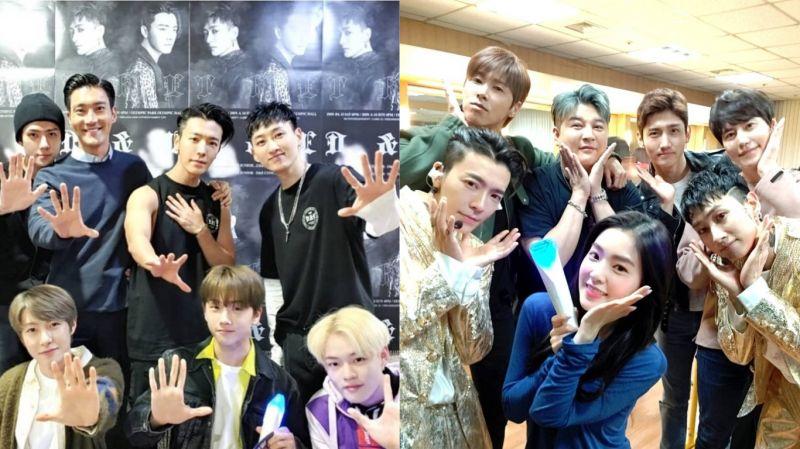 【SJ D&E演唱会】被CUE到就得跳!SM艺人齐跳「触触舞」 父母也加入XD