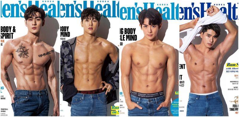 [收图文]跪求我的偶像拍这本杂志!健美杂志珍藏偶像们的健美体态