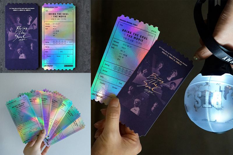 Army們!你們一定要收藏的BTS防彈少年團電影票卡就在Megabox♥