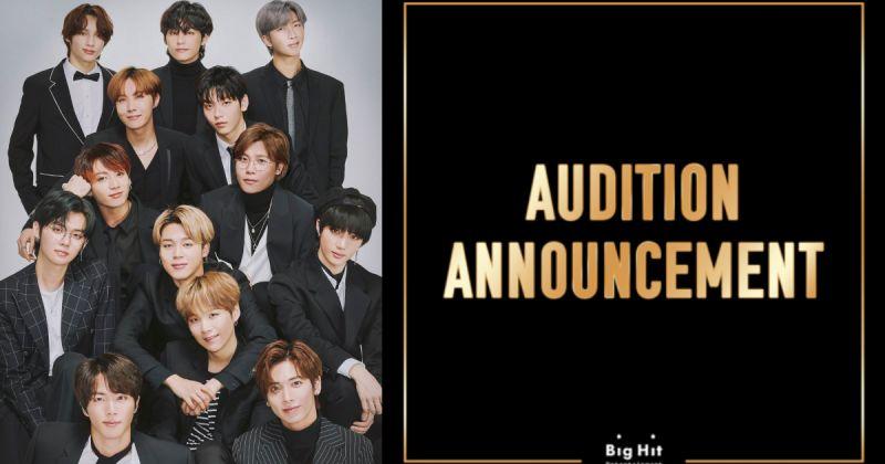 尋找BTS防彈少年團、TXT 師弟 Big Hit 2020 年選秀開跑!