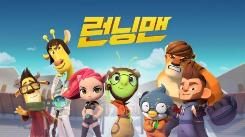 SBS綜藝節目《Running Man》動畫版即將在29日首播啦!