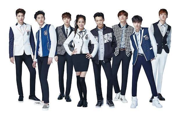 iKON、金智秀共同為校服品牌 SMART代言