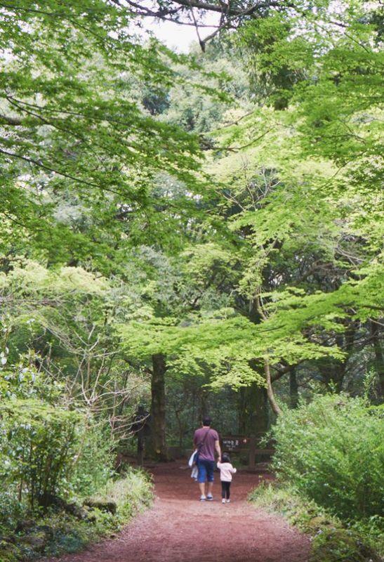 鄭亨敦近況公開     輕鬆與女兒手牽手散步