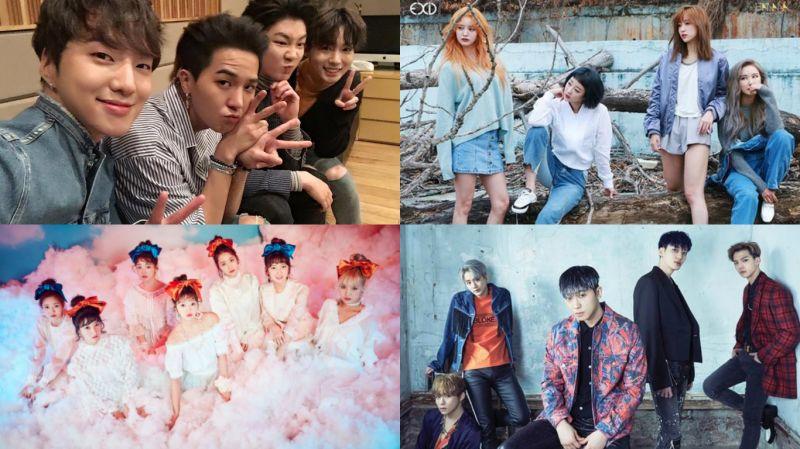 4月要回歸的歌壇的團體有他們!誰的音樂讓你最期待呢?